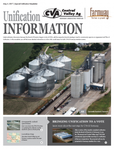CVA FARMWAY NEWSLETTER COVER
