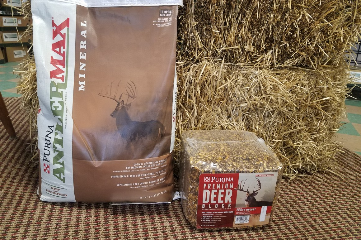 Mineral bag deer